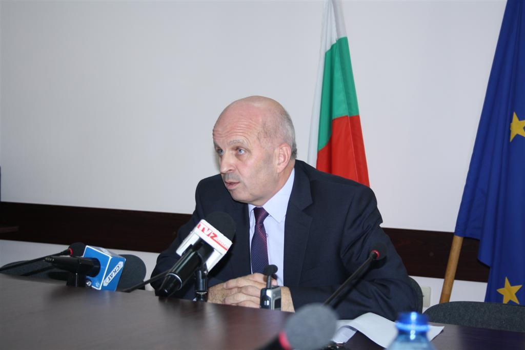 Областният управител инж. Георги Ранов даде пресконференция във връзка със заседанието на Съвета по сигурност