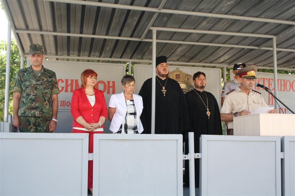 Областният управител Гергана Микова присъства на клетва на войници от Втора механизирана бригада