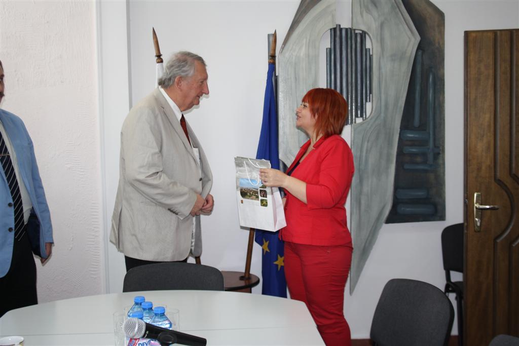 Областният управител Гергана Микова посрещна руски гости