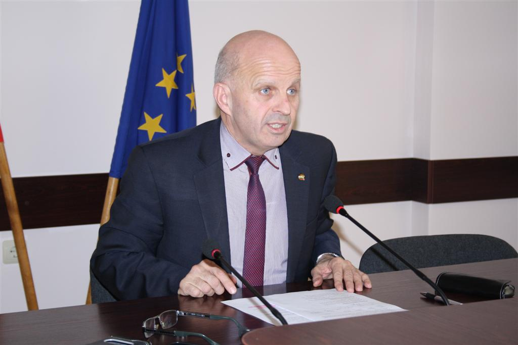 Областният управител инж. Георги Ранов информира медиите за обстановката в Старозагорска област