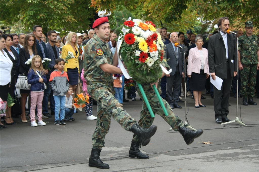 Областният управител инж. Георги Ранов участва в общоградското честване на Деня на независимостта