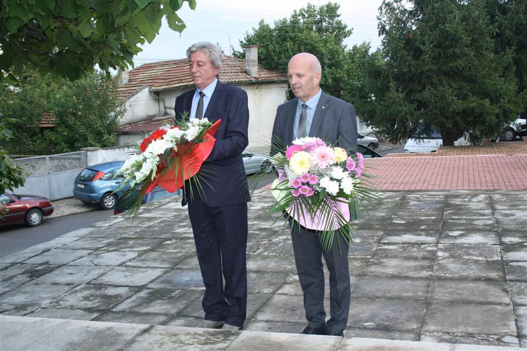 Областният управител инж. Георги Ранов присъства на празника на с. Братя Даскалови