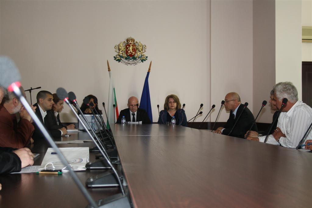 В Областна администрация се проведе заседание на Областния съвет за развитие