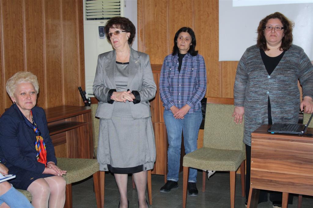 """Областният управител проф. Веска Шошева и зам. областният управител Румяна Друмева присъстваха на откриването на обучителен семинар на """"Надежда и домове за децата"""""""
