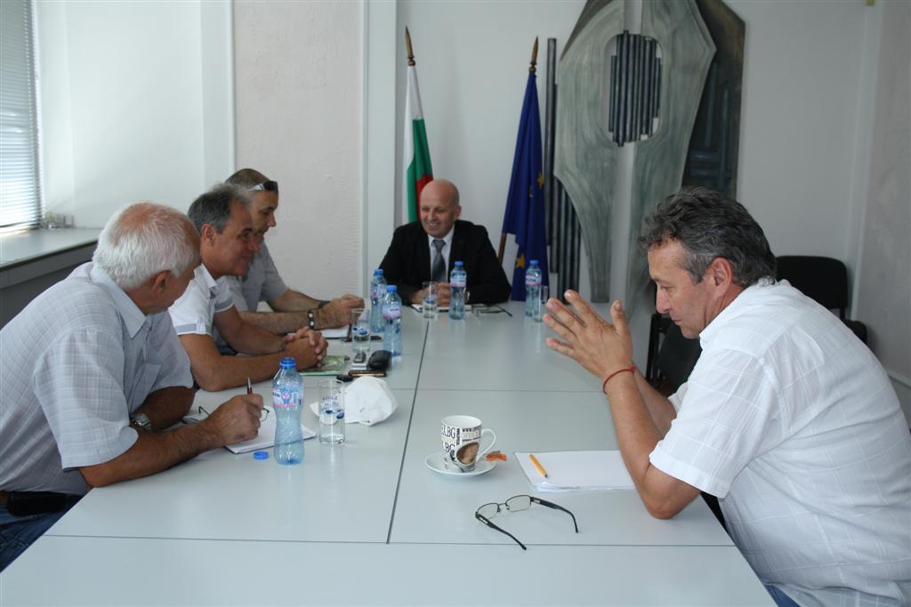 В Областна администрация Стара Загора обсъдиха пожароопасната ситуация в региона