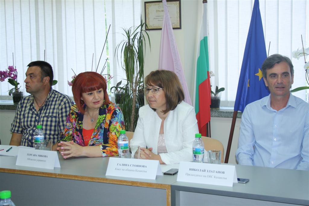 Областният управител и кметът на Казанлък организираха дискусия за съдбата на паметника Бузлуджа