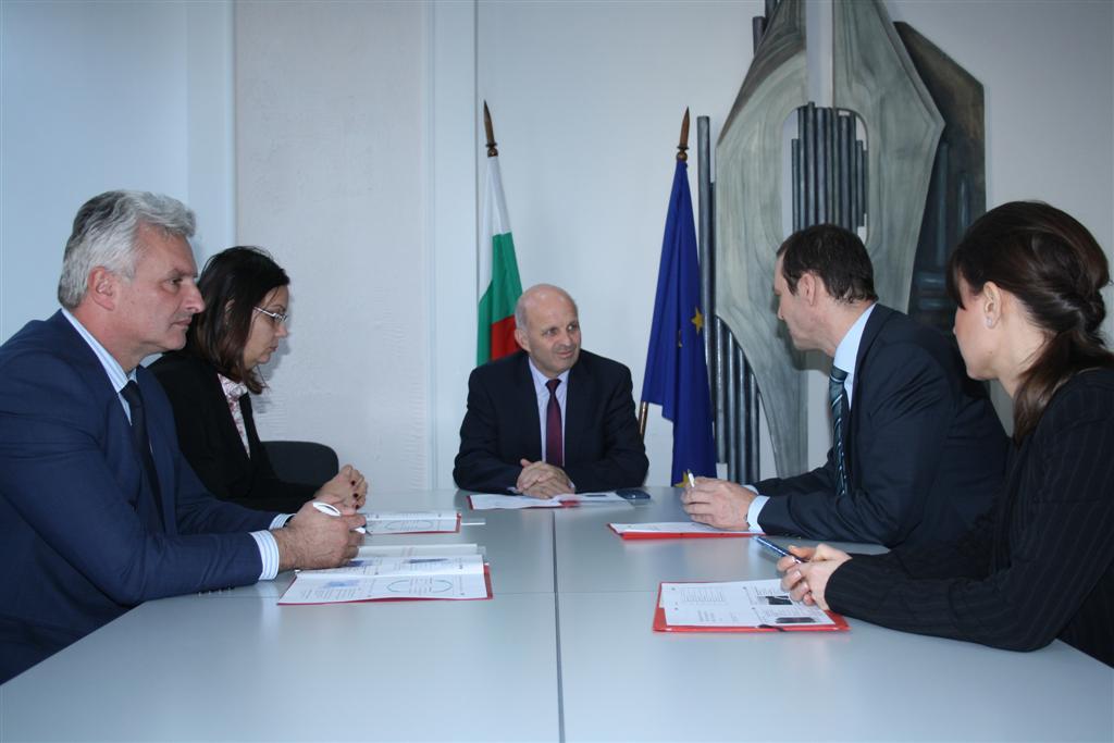 Областният управител инж. Георги Ранов се срещна с председателя на УС на EVN България