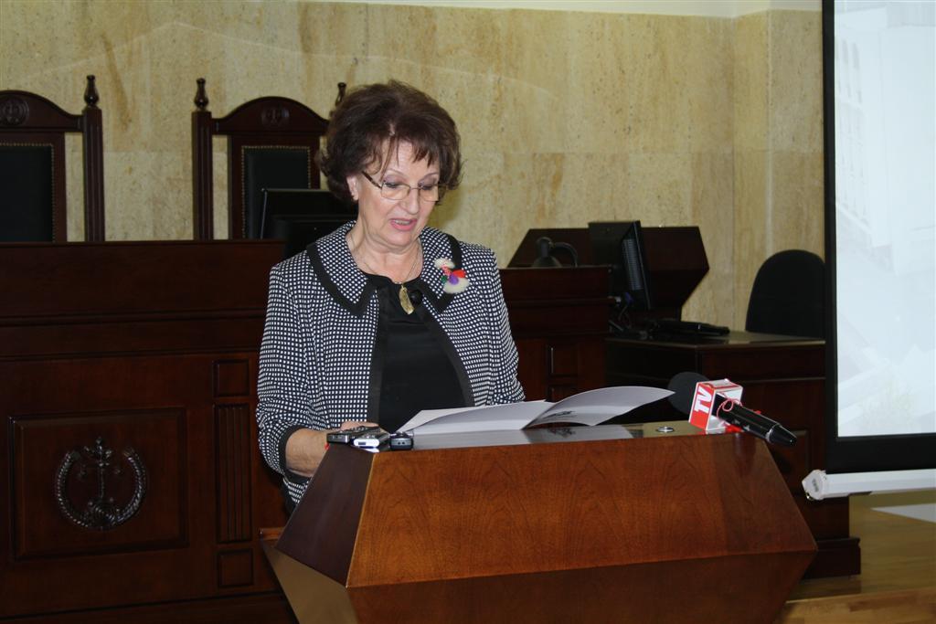 Областният управител проф. Веска Шошева приъства на празника по случай 10-годишнината на Административен съд - Стара Загора