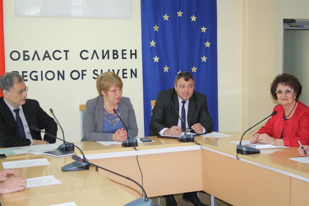Областният управител проф. Веска Шошева участва в среща за Иновационната стратегия за интелигентна специализация