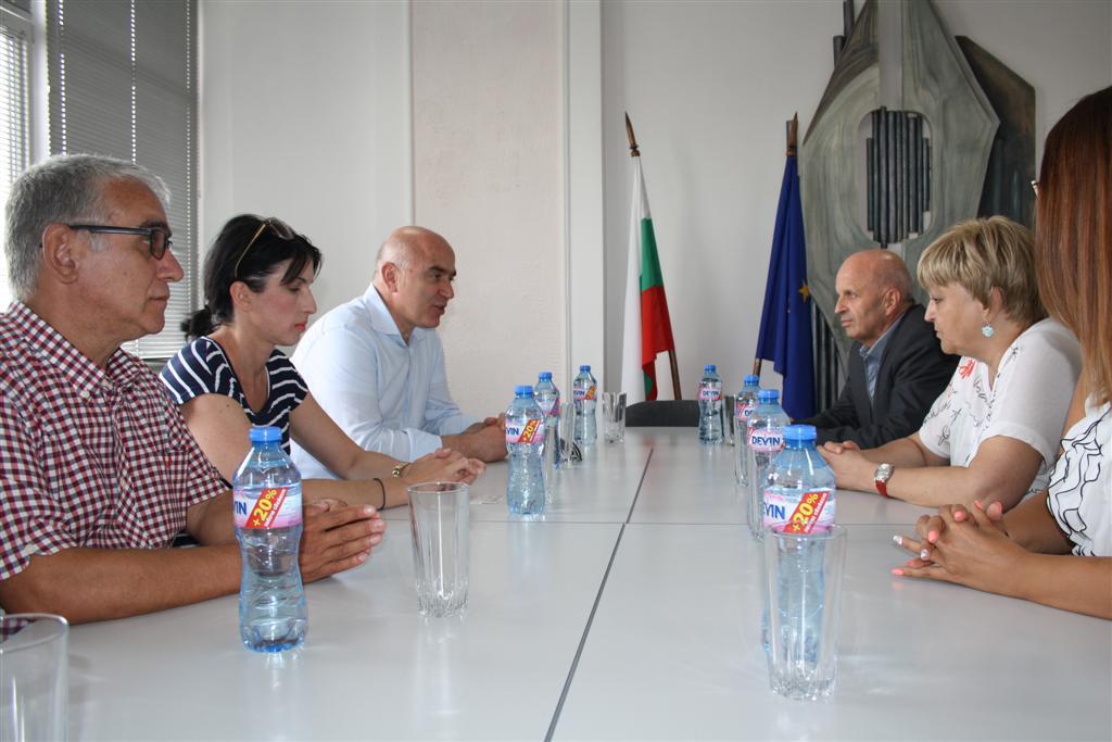 Областният управител инж. Георги Ранов се срещна със заместник регионалния председател на регион Източна Македония-Тракия