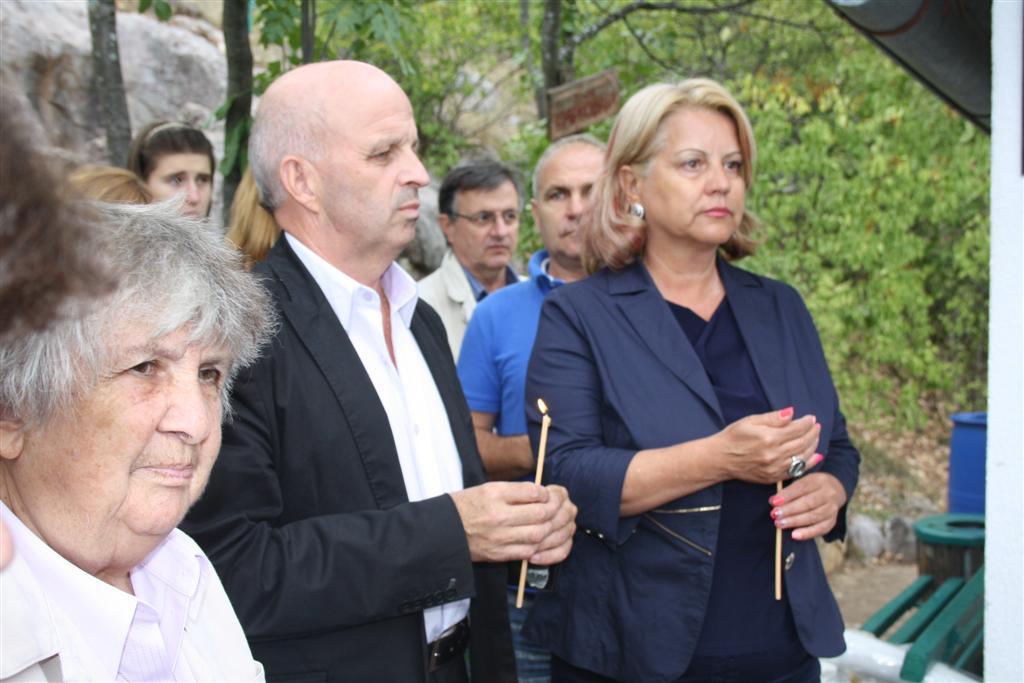 Областният управител инж. Георги Ранов и зам. областният управител Мариана Кръстева присъстваха на водосвет за Рождество Богородично
