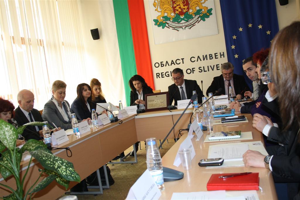 Областният управител участва в заседанието на Регионалния съвет за развитие на ЮИР