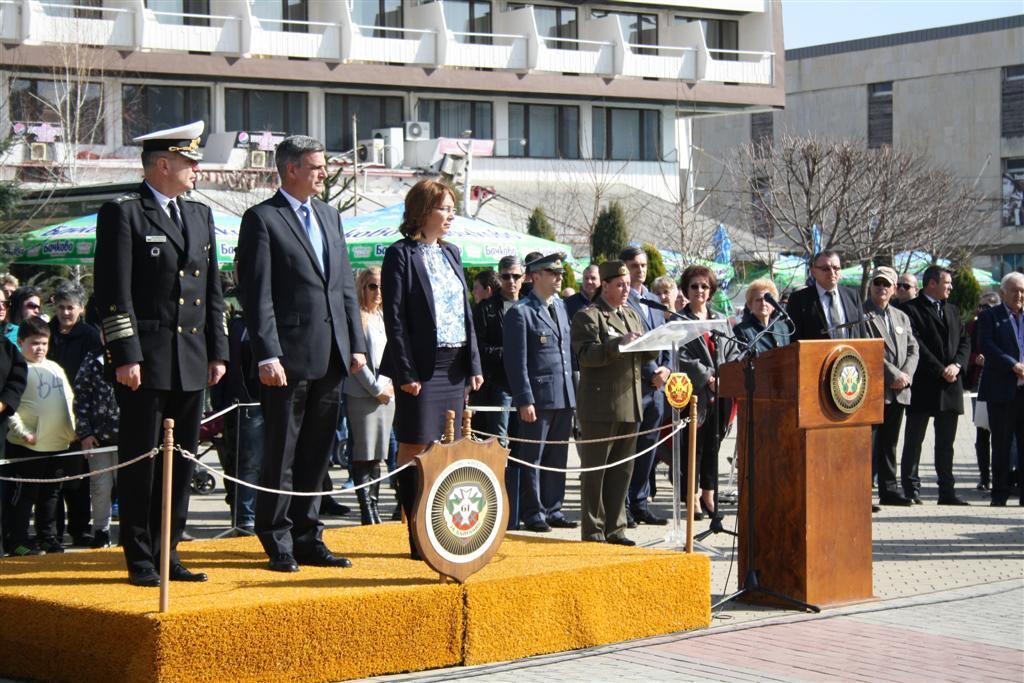 Областният управител и неговите заместници присъстваха на изпращането на 33-ия контингент в Афганистан