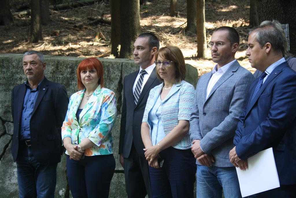 Областният управител Гергана Микова присъства на честванията на героичния подвиг на Хаджи Димитър и неговата чета